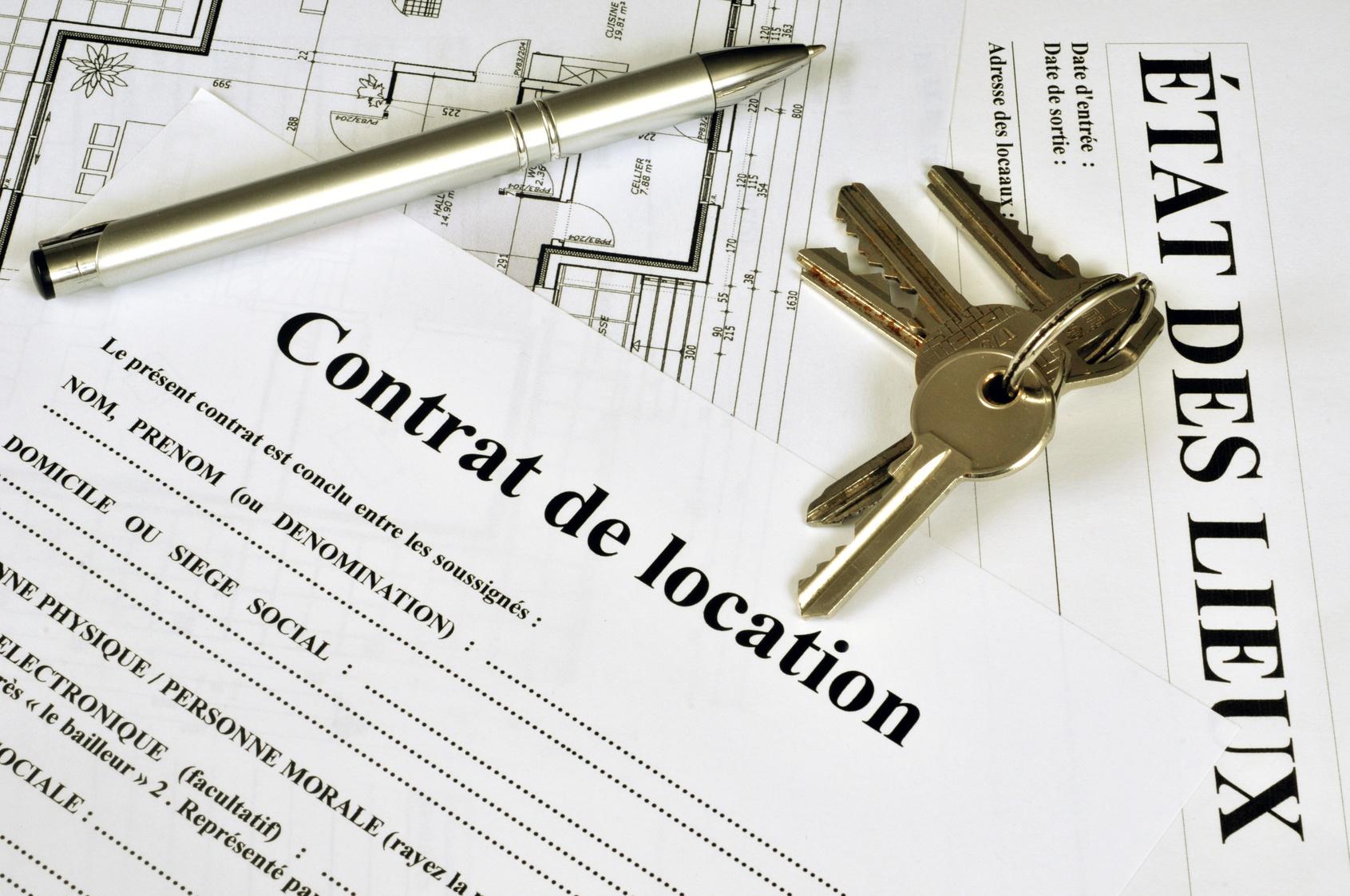 contrat de location meublée étudiant