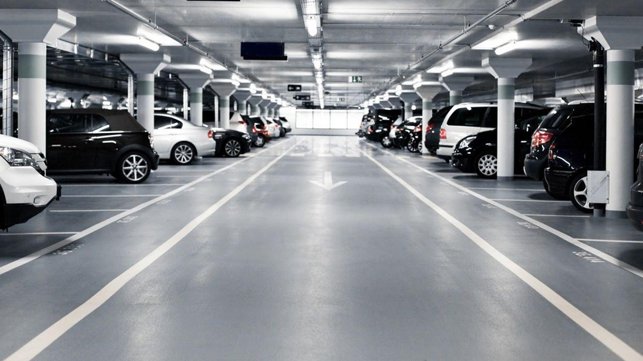 investir parking garage